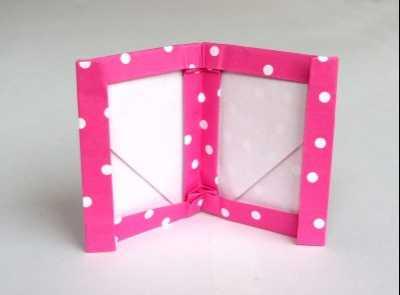 diy相框制作方法 手工折紙自制相框圖解制作教程