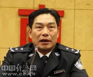 公安部局长图片 胡明朗调任公安部禁毒局局长