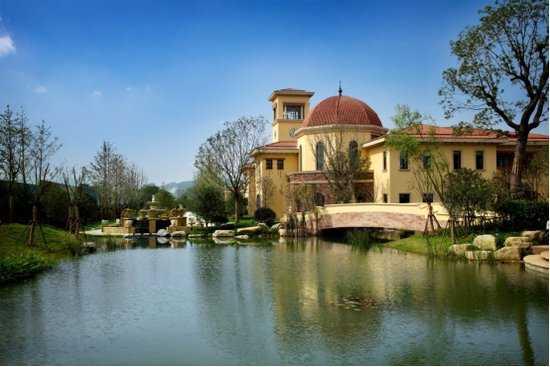 有天有地的逸致人生,与太湖风韵相映成趣.北京泳池租短别墅图片